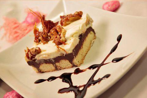 Сливочно-шоколадный десерт