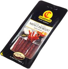 Колбаски сыровяленые полусухие Мини Чоризо 90г