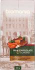 Молочный шоколад c миндальной пастой 100г
