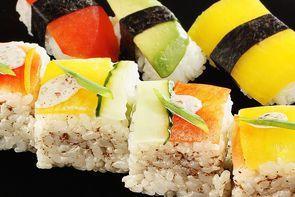 Постные суши