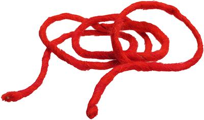 Шнур декоративный Красный 1м