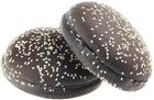 Булочки для гамбургера черные 6*89г