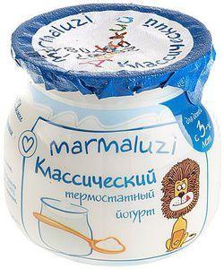 Йогурт термостатный Мармалузи 2,5% жир., 125г