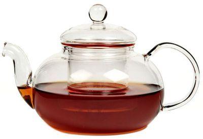 Чайник Смородина из жаропрочного стекла 600мл