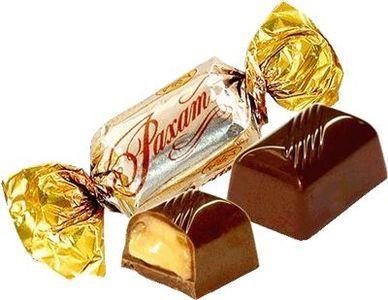 Конфеты Рахат шоколадные 250г