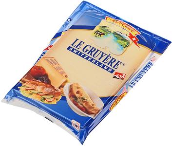 Сыр Грюйер 50% жир., 195г
