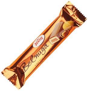 Марципановый батончик Belnuga в шоколаде 60г