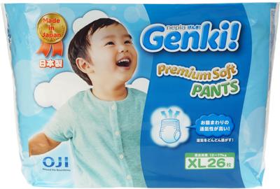 Трусики-подгузники GENKI XL (12 -17 кг)