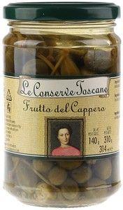 Каперсы на веточке в винном уксусе Toscane 314мл