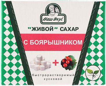 Живой сахар с боярышником 330г