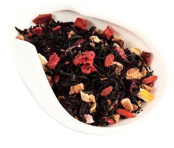 Чай черный Апельсин и Годжи 100г