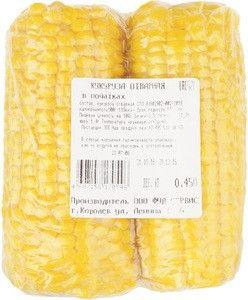 Кукуруза отварная в початках 450г