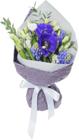 Букет №6 Анемона синяя и гиацинт