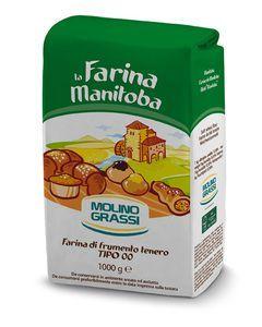 Пшеничная мука 00 Манитоба 1кг