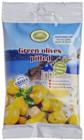 Оливки зеленые с чесноком и фенхелем 80г