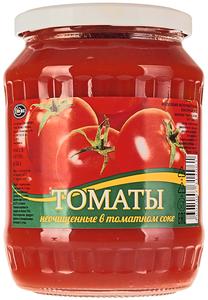 Помидоры в томатном соке ГОСТ 650г