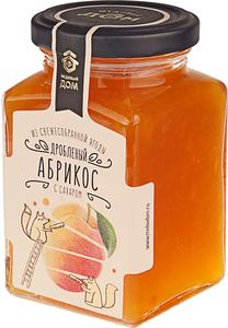 Абрикос дробленый с сахаром 290г