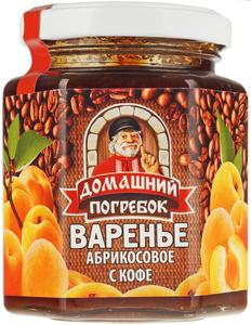 Варенье абрикосовое с кофе 240г