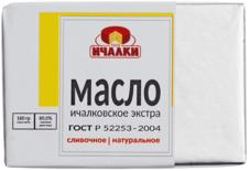 Масло сливочное Ичалковское Экстра 80% жир., 180г