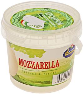 Сыр Моцарелла 40% жир., 125г