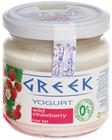 Йогурт Греческий Земляника 165г