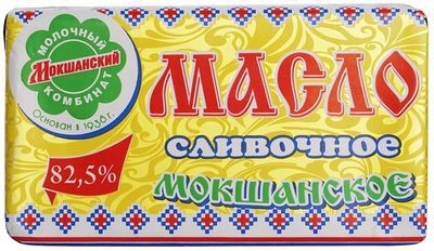 Масло Мокшанское 82,5% жир., 185г