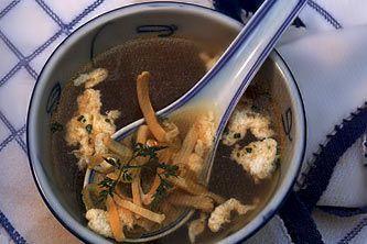 Суп с морским ушком