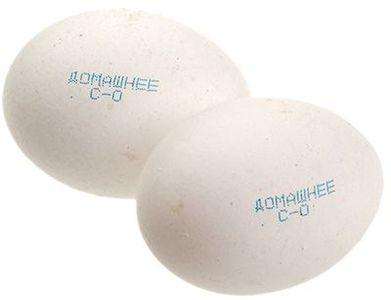 Яйца белые куриные СО 10шт