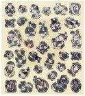 Пасхальный набор наклеек Переливашки