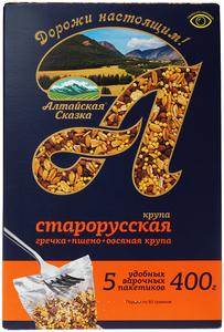Крупа Старорусская в варочных пакетиках 400г