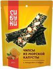 Чипсы с миндалем и медом Сибуки 25г