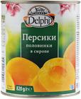 Персик половинки в сиропе 820г