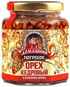 Орех кедровый в сосновом сиропе 220г
