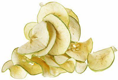 Яблочные чипсы Зеленое яблоко 25г