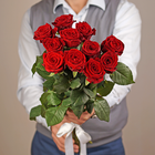 Роза красная Ред Наоми 1шт
