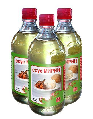 Соус Мирин 0,5л сладкий, рисовый, TAKEMURA
