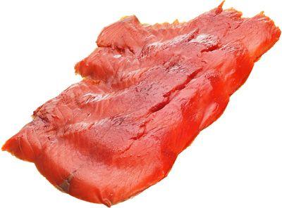 Кижуч слабосоленый ломтики 150г нарезка, Золотая рыбка
