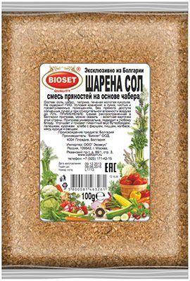 Шарена сол 100г универсальная приправа, Болгария