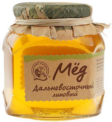 Дальневосточный липовый мед 500г Кедровый Бор