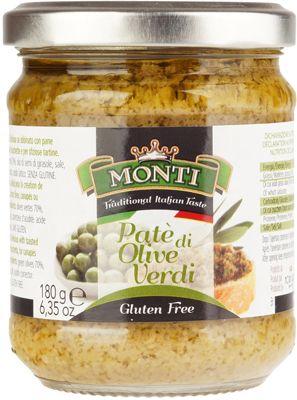 Крем-паста из оливок 180г Green Olive Pate, Италия