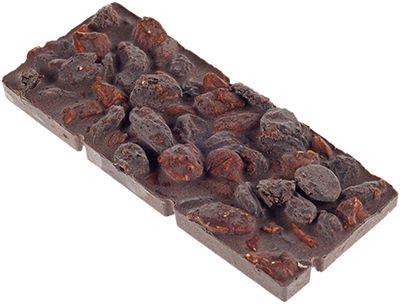 Горький шоколад С изюминкой 50г Vegan food