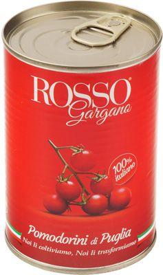 Помидоры Черри в собственном соку 400г томаты, Rosso Gargana, Италия