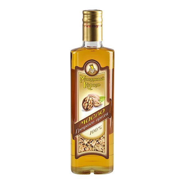 Масло грецкого ореха, 350мл нерафинированное, Золотой орешек