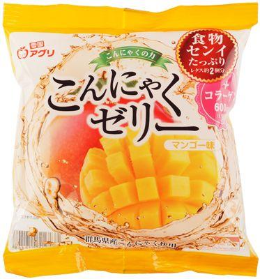 Десерт Конняку желе с соком манго 115г 6 порций, Япония