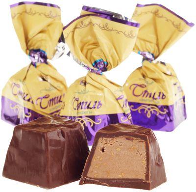 Конфеты шоколадные Стиль 500г Рахат, Казахстан
