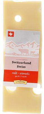 Сыр Швейцарский 49% жир., 180г Люстенбергер, Швейцария