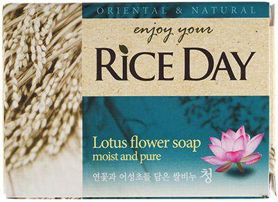 Мыло туалетное экстракт лотоса 100г CJ Lion, Rice Day