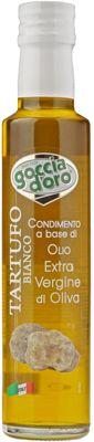 Масло оливковое со вкусом и ароматом трюфеля 250мл Extra Virgin, Goccia D`Oro, Италия