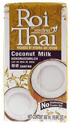 Кокосовое молоко Roi Thai 500г 70% кокосовой мякоти, ультрапастеризованное