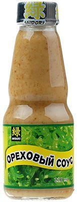 Ореховый соус 0,21л соевый кунжутный, Midori